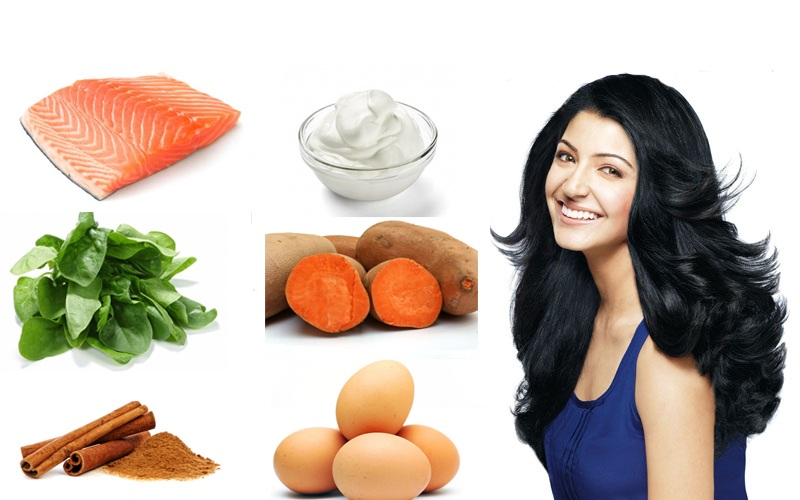 Foods for Thicker and Stronger Hair